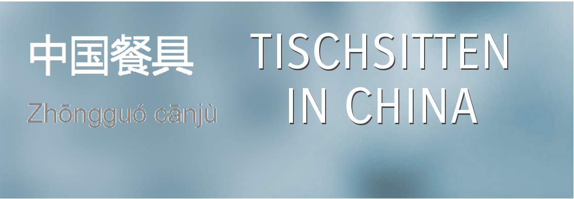 Tischsitten in China